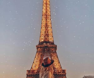 chic, cities, and eiffel tower image
