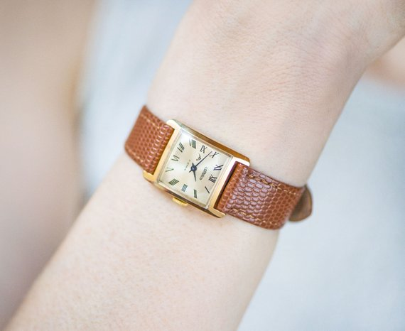 etsy, roman numerals, and shockproof watch image