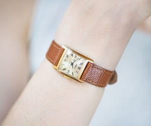 etsy, roman numerals, and watch for girl image