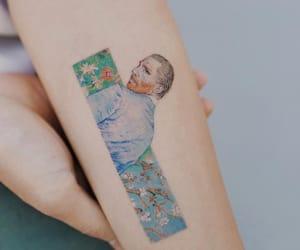 tattoo, art, and van gogh image