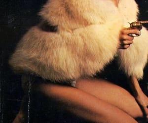 gun, fur, and grunge image
