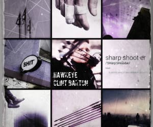 aesthetic, Marvel, and clint barton image