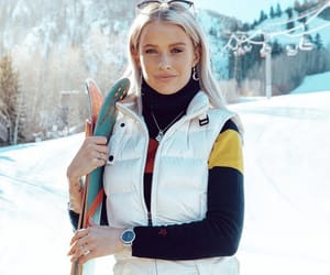 outfit, ski, and winter image