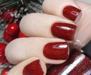 beuty, cherry, and christmas image