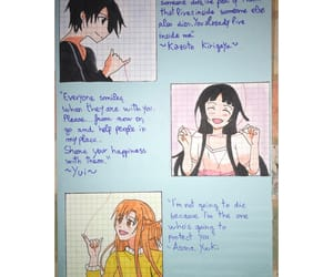 asuna, asuna yuuki, and kirito sao image