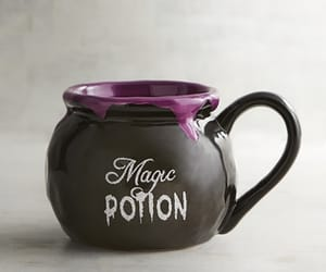 magic, coffee, and mug image
