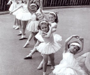 ballet, girl, and ballerina image