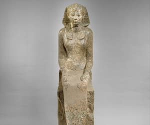 ancient egypt, metmuseum, and statue image