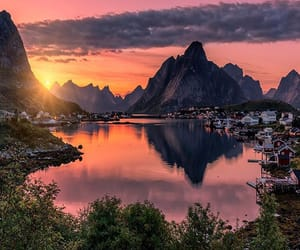 beautiful, reine, and norway image