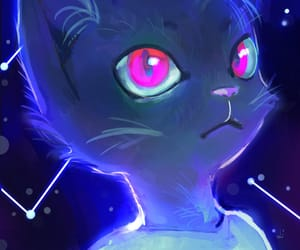 beautiful, cat, and game image