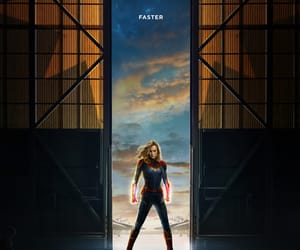 Marvel, movie, and captain marvel image