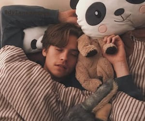 dylan sprouse, boyfriend, and sleep image