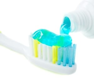 bath, toothpaste, and beauty image