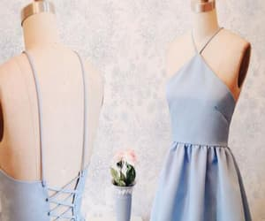 blue homecoming dress, cute homecoming dress, and homecoming dress sexy image