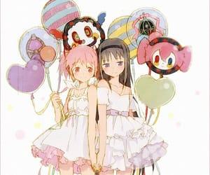 anime, madoka kaname, and homura akemi image