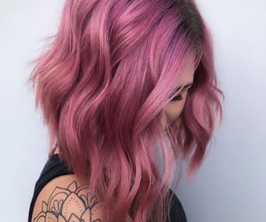 colorful, colors, and hair image