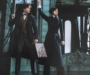 eddie redmayne, grindelwald, and fantastic beasts image