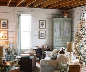 country living and living room image