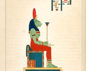 ancient egypt, egyptian mythology, and sekhmet image