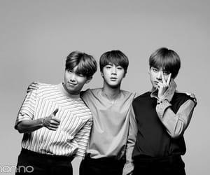 idol, seokjin, and kim taehyung image
