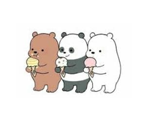 ice cream, cute, and we bare bears image
