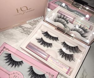 lashes, cosmetics, and makeup image