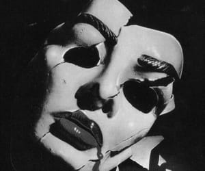 mask and dark image