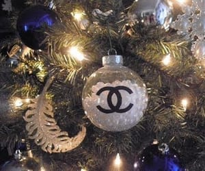 chanel, christmas, and tree image