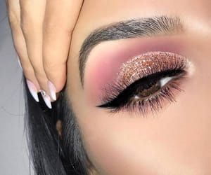 makeup, make, and nails image