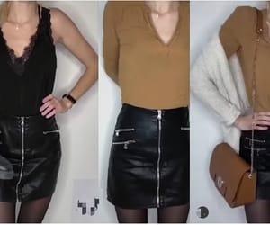 americana, skirt, and falda image