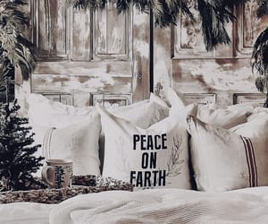 christmas, cottage, and cozy image