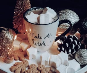 christmas, decoration, and drinks image