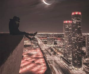 city, light, and cool image