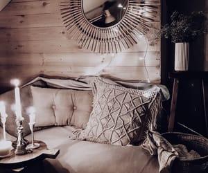 boho, candlelight, and decor image