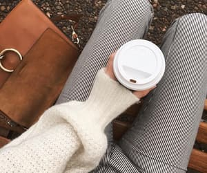 fashion, autumn, and coffee image