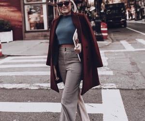 coat, fashion, and streetstyle image