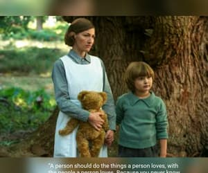 beautiful movie, love, and goodbye christopher robin image