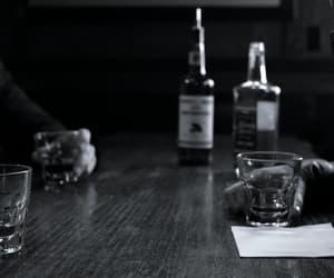 alcohol, bar, and dark image
