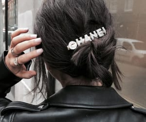 hair, chanel, and nails image