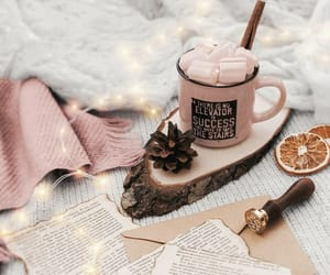 cappuccino, santa, and christmas image