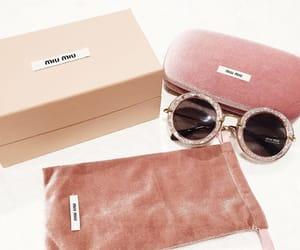 fashion, sunglasses, and miu miu image