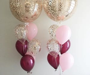 balloons, blogger, and celebrate image