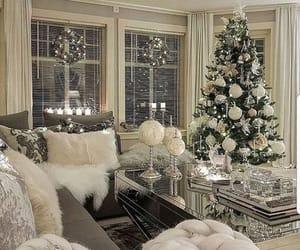 decoration, interior, and christmas image