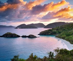 st. john, trunk bay, and usvi image