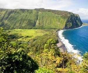 hawaii, big island, and waipio valley beach image