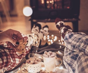 Cookies and hot chocolate image