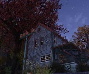 autumn, birdhouse, and farm image