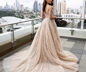 girl, beauty, and dress image