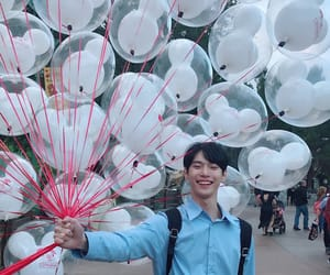 balloons, smile, and nct 127 image
