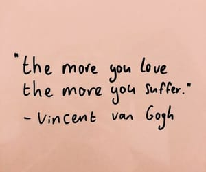 quote, van gogh, and love image